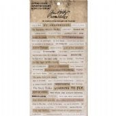TIM HOLTZ® IDEA-OLOGY™ - Clippings Stickers - TH93583